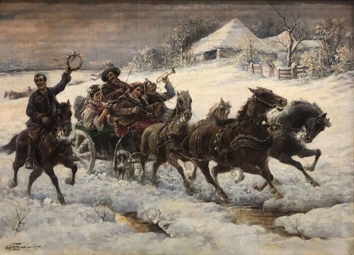"""Снегът през погледа на художниците в галерия """"Нюанс"""""""