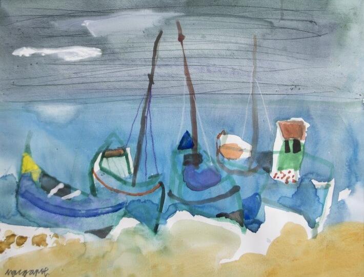 Магията на Дубровник Любен Зидаров покорява ценителите с прекрасни акварели, изпълнени със светлина и слънце