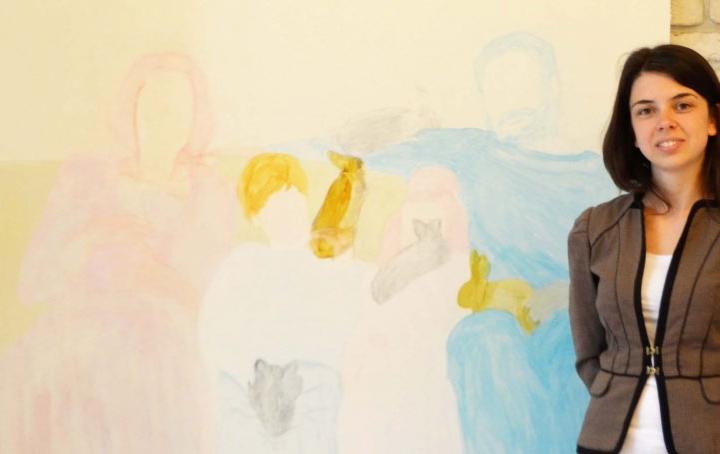 """Калина Мавродиева- """"Рисунки"""" – изложба живопис 10.10.2017-24.10.2017"""