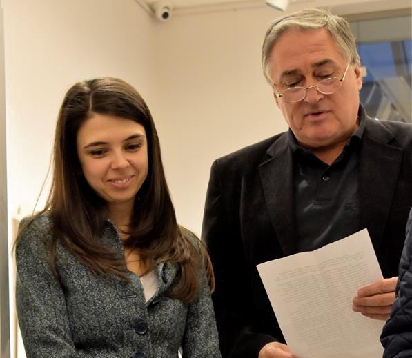 Речта на проф. Памукчиев от откриването на изложбата на Калина Мавродиева