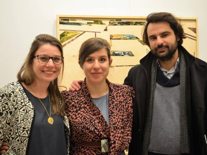 Откриването на изложбата Air On Wood на Калия Калъчева