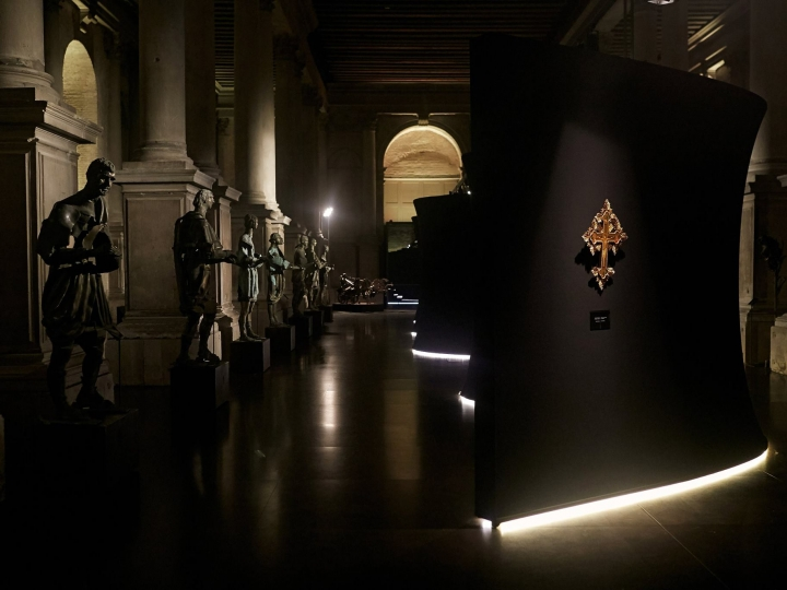 """Videos from Venice Today about """"Guardians"""" exhibition"""